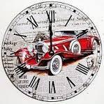 hodinky s  autom